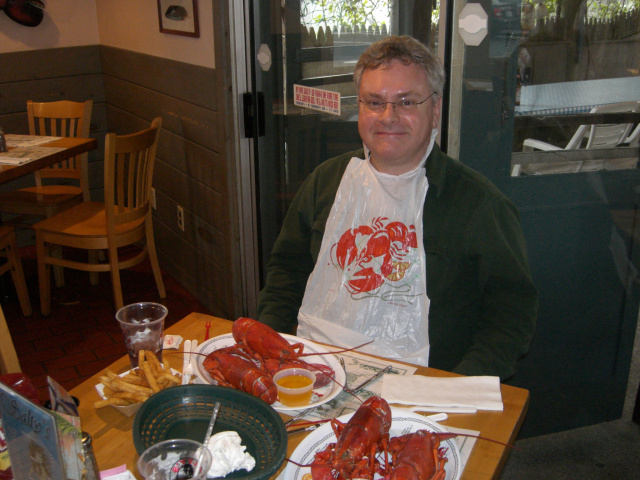 Salty's Lobster Dinner